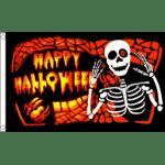 Halloween bones flag 5x3ft