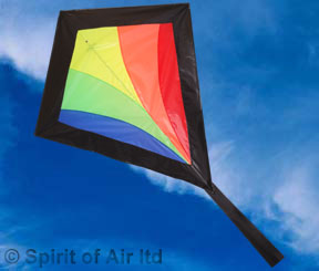 Hot diamond traditional kite from Spirit of Air