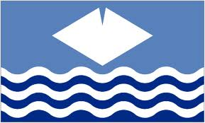 Isle of Wight - Waves flag 5ft x3ft