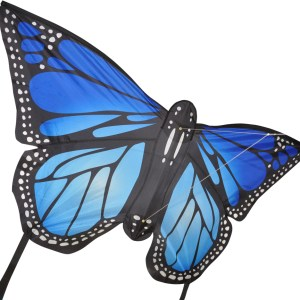 Monarch butterfly kite large in BLUE by spirit of Air