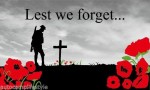 Lest we forget flag 5x3ft New style