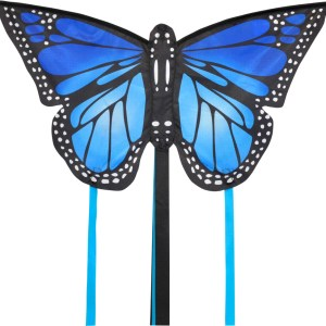 Monarch butterfly kite small in blue by spirit of Air