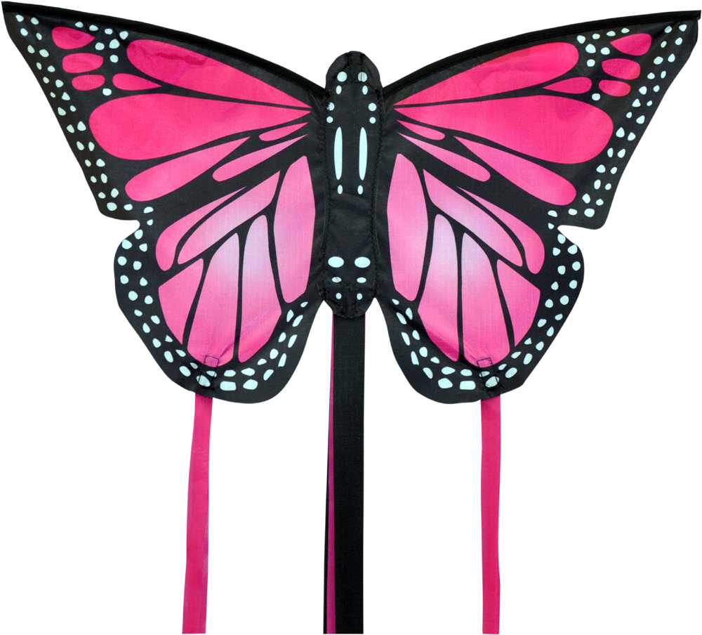 Monarch butterfly kite small in pink by spirit of Air