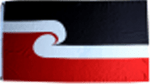 New Zealand Maori Flag 5ft x3ft