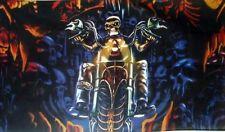 Skull rider flag 5ft x 3ft