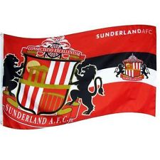 Sunderland horizon football flag 5ft x 3ft with eyelets