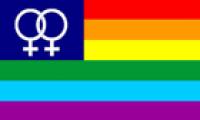 Rainbow Venus flag 5ft x 3ft