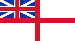 White ensign flag 5ft x 3ft