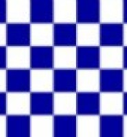 Chequered check flag navy white 5ft x 3ft