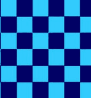 Chequered check flag sky blue navy 5ft x 3ft