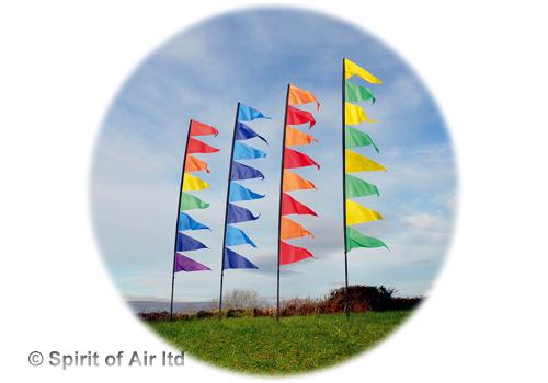 Flagseller UK Streamer flag 4m white High Quality