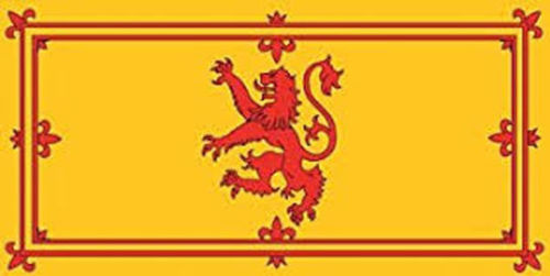 Scotland Lion rampant flag 5ft x 3ft
