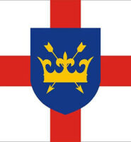 St Edmund of Suffolk flag 3ft x 2ft with eyelets