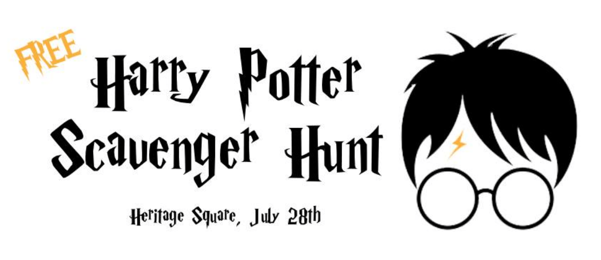 Harry Potter Scavenger Hunt Printable Pictures to Pin on