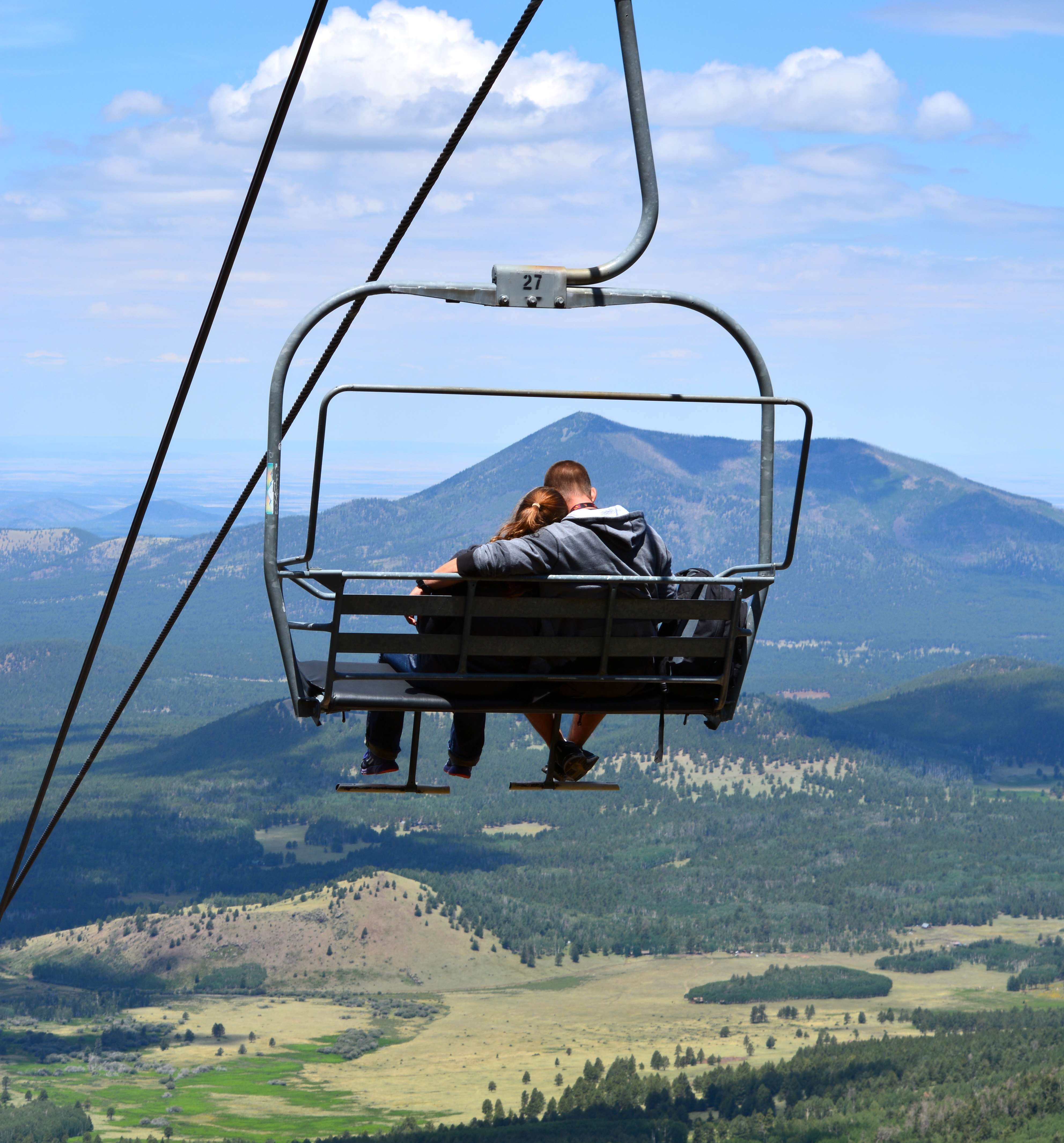 swing chair local old wooden barrel chairs az snowbowl chairlift open flagstaff business and online