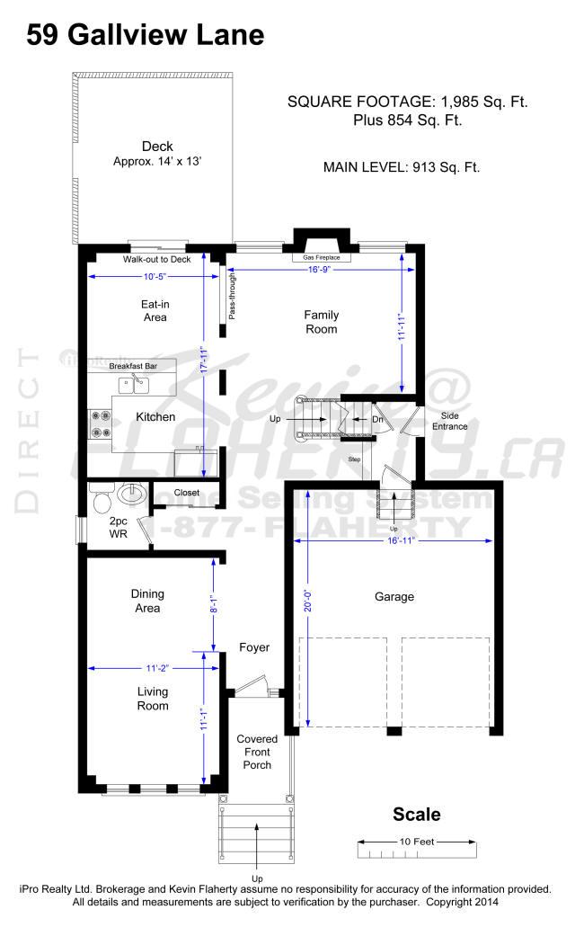 59 Gallview Lane Brampton Real Estate MLS Listing House
