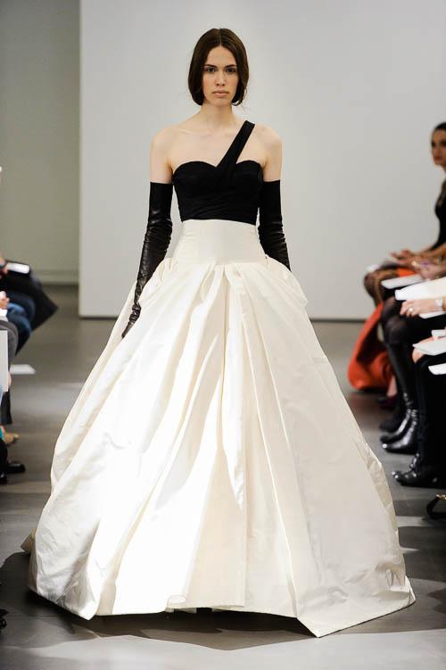 Brautkleider 2014  die Brautmoden Trends von Vera Wang