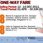 AirPhil Express promo seat sale 2012