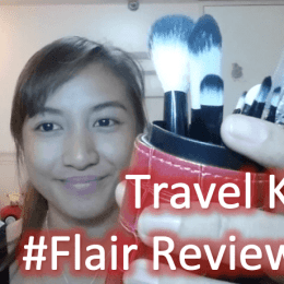 Basic Cute Makeup Brush Kit for Travel