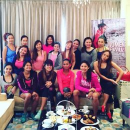 Meeting Under Armour Ambassadors – Power in Pink