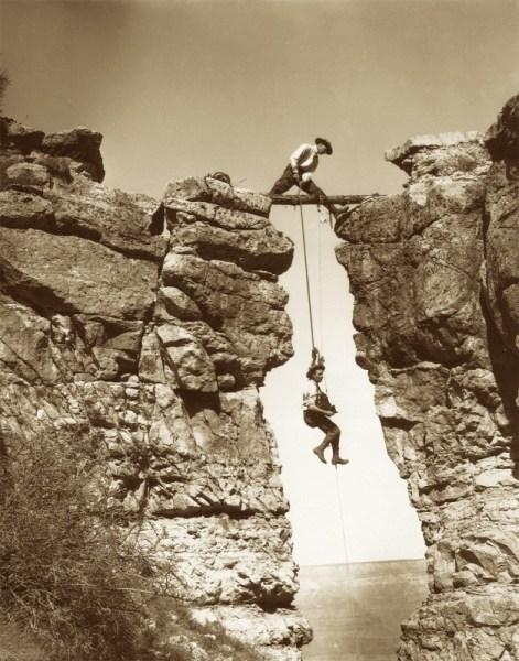 Les frères Kolb dans le Grand Canyon, 1904