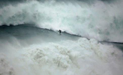 Grosses vagues par Rafael Marchante