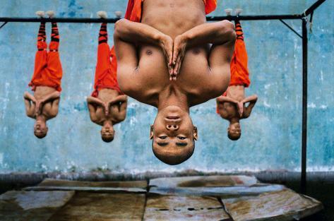 Un entraînement Shaolin