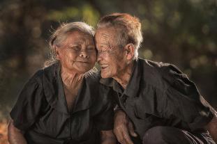 Un couple heureux en Thaïlande