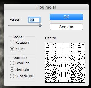 Nouveau Flou Radial