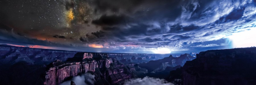 Projet Skyglow dans le Grand Canyon