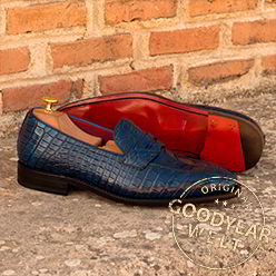 loafer gyw exotic alligator