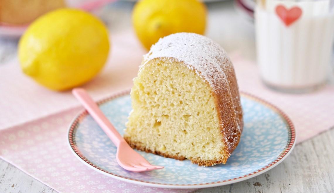 Bolo de limão siciliano e Amaretto