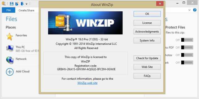 WinZip 22 Pro Crack Full Version With Keygen Free Download