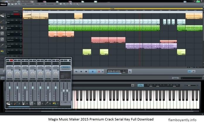 Magix Music Maker 2018 Premium Crack + Serial Key Full Download