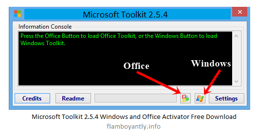 Microsoft Toolkit 2.5.4 Windows and Office Activator Free Download