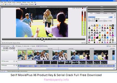 serif movieplus x6 crack
