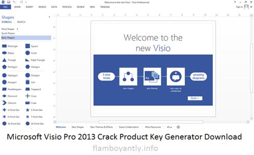 Microsoft Visio Pro 2013 Crack Product Key Generator Download