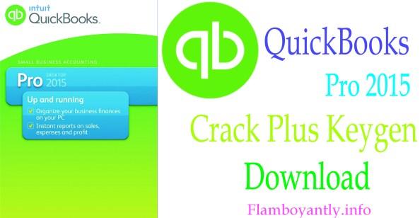 QuickBooks Pro 2015 Crack Plus Keygen Download