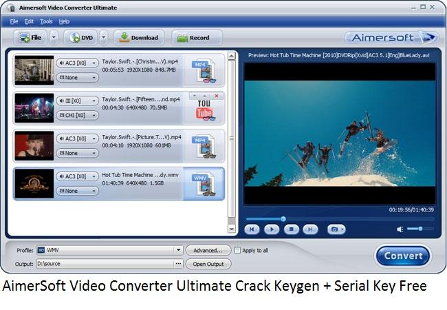 video converter ultimate serial
