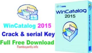 WinCatalog 2015 Crack & serial Key Full Free Download