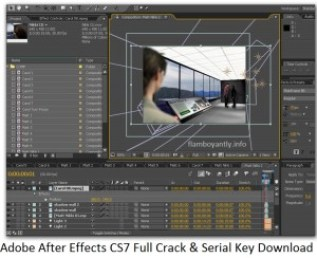 Adobe After Effects CS7 Full Crack & Serial Key Download