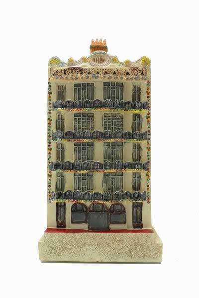 Casa Batll Resina 17cm  FlamencoExport