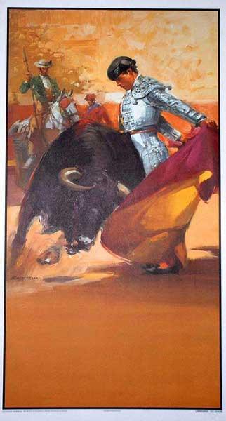 Carteles y posters de corridas de toros para decoracin y