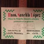 Hnos. Sanchis Lopez 2016 solea 6