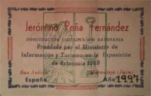 Jerónimo Peña