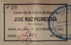 José Ruiz Pedregosa