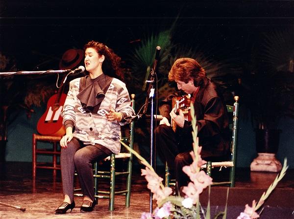 Festival Flamenco Lorca - 1993 - rocio Alcalá, Guitarra Pascual de Lorca