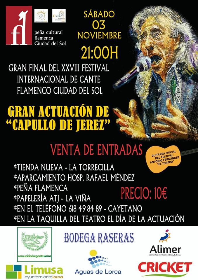 Festival Internacional FLamenco Ciudad del Sol - 2018