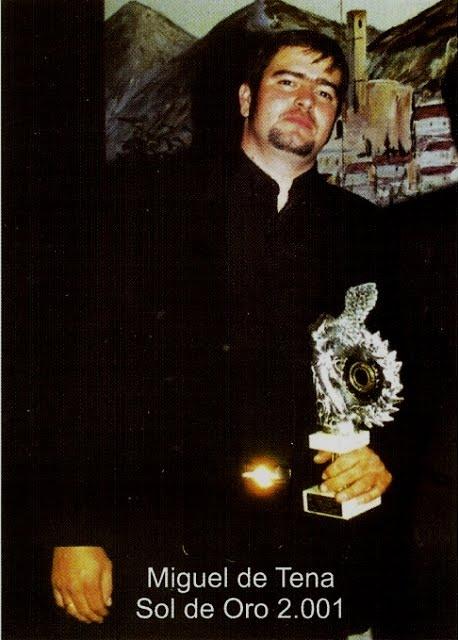 Miguel de Tena Sol de Oro2001