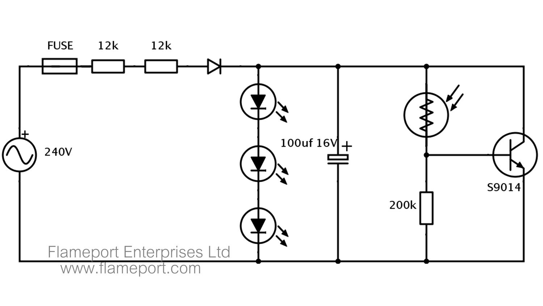 hight resolution of 99p automatic led nightlight teardown led night light circuit circuit schematic for a 99p led nightlight